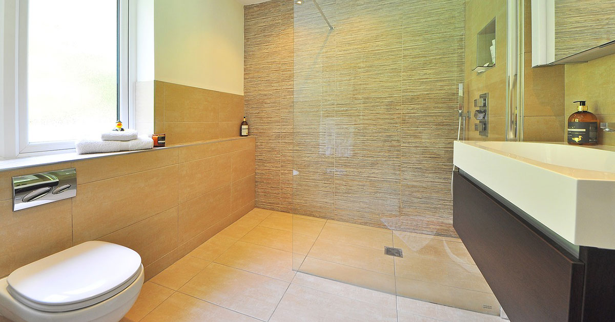 Bathroom design near volusia county