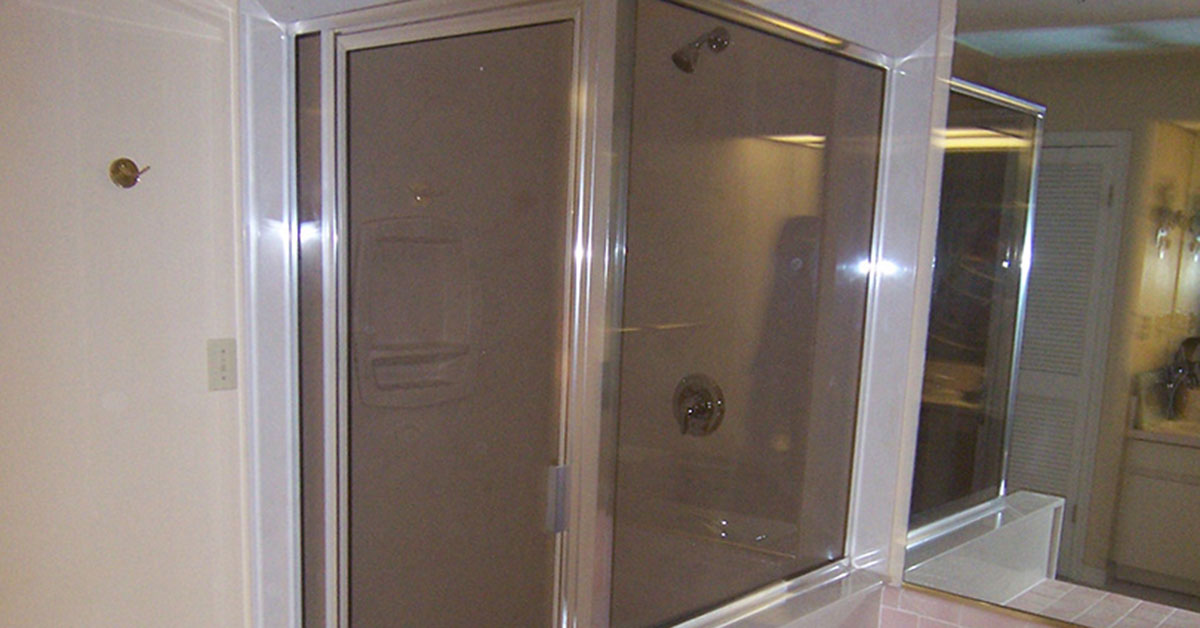 glass shower door replacement in orlando